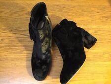 KATE SPADE NEW YORK LANGLEY VELVET BOOTIES WITH BOW NEW SIZE 6