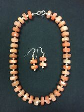 Sunstone Necklace & Earring Set