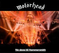 """2CD MOTORHEAD """"NO SLEEP TIL HAMMERSMITH -DELUXE-"""". Nuevo y precintado"""
