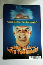 THE MAN WITH TWO BRAINS STEVE MARTIN MINI POSTER BACKER CARD (NOT a movie )