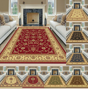 Luxury Heritage Non Slip Traditional Rugs Bedroom Living Room Rug Hallway Runner