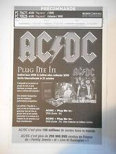 ▓ BON DE PRÉCOMMANDE SONY ▓ AC DC : PLUG ME IN