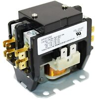 AC Magnetic Coil Contactor C230B 2-Pole 30A 120V Air Conditioner Compressor Part