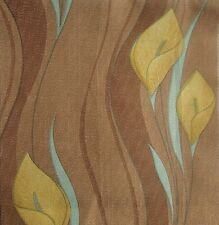 5Meters Brundall Curtain & Home Interior Fabric - Peace Lily Brown | £13.50/M