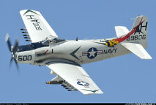 """1/6  Scale   AD-1 Skyraider  100"""" Giant Scale RC Model AIrplane  Plans"""