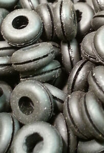 rubber grommet #215 Pack of 25 it measures: A=7/16 B=3/16 C=7/32 D=1/16 E=5/16