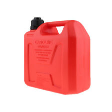 Plastic Can Gas Gasonline Petrol Fuel Tank Oil Container Fuel-jugs Red 5L