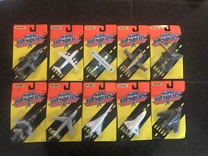 Vintage Lot of 10 Matchbox Sky Busters 1994- Carded