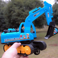 HK- KM_ Excavator Simulation Construction Vehicle Model Children Educational Toy