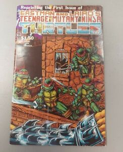 Teenage Mutant Ninja Turtles #1 Fourth Print Comic Book Mirage Studios