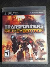 REPLACEMENT CASE- NO GAME- PlayStation 3 : Transformers: Fall of Cybertron