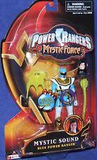 "Power Rangers Mystic Force Blue Mystic Sound Ranger New 5"" Factory Sealed 2006"
