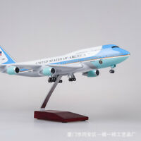 1:150 Airplane Toy Resin US Air Force One B747  Airplane Airliner Passager Plane