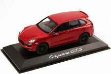 1:43 porsche Cayenne GTS 2012 rouge red-Dealer-Edition-OEM - Minichamps