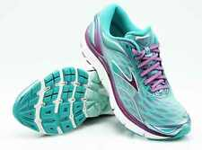 Brooks Running Shoes Transcend 3 Aruba Blue Byzantium Silver/Mint 23 Size 40
