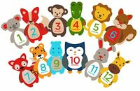 Pearhead First Year Monthly Milestone Felt Animal Photo Sharing Baby Belly