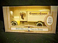 ERTL Replica 1925 Kenworth Delivery Truck BANK Coast to Coast Die-Cast Metal