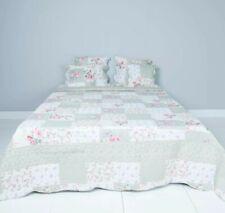 Clayre & Eef Bettüberwurf Tagesdecke Plaid Sofaüberwurf Patchwork Shabby Vintage
