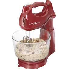 Cake Stand Mixer Hand Small Mini Table Electric Red Kitchen Baking Mixers
