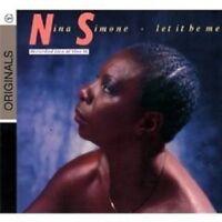 """NINA SIMONE """"LET IT BE ME"""" CD 10 TRACKS NEW!"""