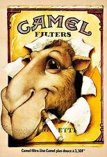 ART CAMEL sigarette pubblicità SIGARETTE SIGARETTA FUMO Deco Poster stampati