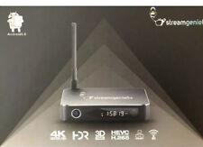 StreamGenie TV Stream Box -Newest Version Easy Setup- 4K HD