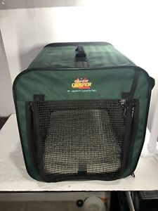 Canine Camper Day Tripper Portable Tent Crate Collection 18Lx13Wx14H