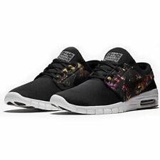 newest c32d8 fb244 Nike Stefan Janoski Max Men s Skate Shoes Sz 9.5 10 Black Floral 631303 029