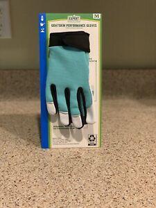 Expert Gardener Goatskin Performance Gloves - Womens Leather Work Gloves Medium