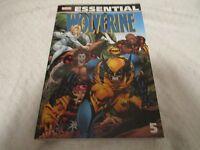 Marvel Essential Wolverine Volume 5 Comic Book Paperback
