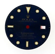 Original Men's Rolex Submariner Blue Dial 16618,16803,16808 2Tone #E19