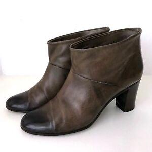 Maison Martin Margiela Stiefeletten 37 Leder Braun Stiefel Ankle Boots Brown