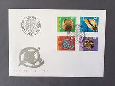 SWITZERLAND FDC 16.5 1995 HELVETIA Pro Patria Folk Art