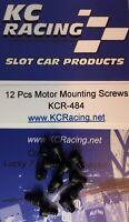 12 Pcs Motor Mounting Screws KCR-484 1/24 Slot Car