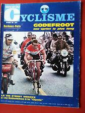 1969 miroir du cyclisme n°119 BORDEAUX PARIS GODEFROOT LA VIE EDDY MERCKX (2)