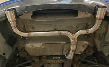BMW M235i F22 N55 - BACK BOX MUFFLER DELETE - PERFORMANCE EXHAUST  PIPE DYNAMICS