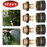 4Pairs Quality Garden Hose Quick Connect Set Pressure Washer Tap Adapter US Ship