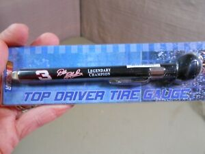 DALE EARNHARDT Top Driver Tire Gauge Winners Circle NASCAR NOS