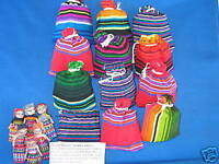 12 LARGE Guatemala WORRY DOLL POUCHES trouble dolls