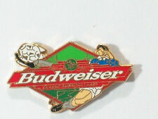 Budweiser Classic American Lager Soccer Beer Pin **