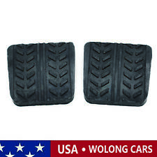 2PCS Brake Clutch Pedal Pad Rubber Covers Fit for Mazda 323 929 B-Series MX6 RX7