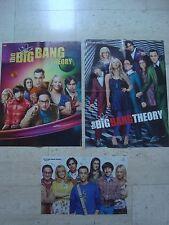 3 FAB THE BIG BANG THEORY magazine poster Jim Parsons Johnny Galecki Kaley Cuoco
