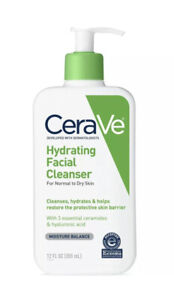 CeraVe Hydrating Facial Cleanser For Normal To Dry Skin - 12oz