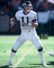 1989 PHIL SIMMS  New York Giants FOOTBALL ACTION Glossy Photo 8x10 PICTURE WOW!!