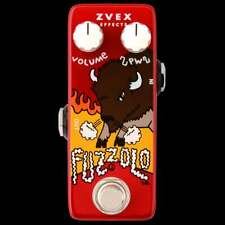 Zvex Fuzzolo Micro Sized Guitar or Bass Fuzz Effect Pedal - Brand New!