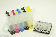 Empty Continuous Ink System For Canon Pixma MG5200 MG5220 MG5320 CISS w/CHIPS