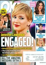 2014 OK Magazine: Jennifer Lawrence Engaged/Sandra Bullock/Jessica Simpson/X-Men