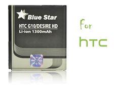 Batterie Li-ion Blue star pour GSM HTC Desire HD G10, 1300mAh