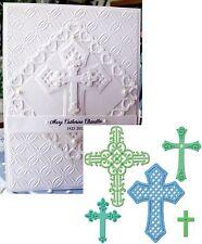Crosses 2 Metal Die Set - Spellbinders S5093 All Occasion,Easter,Baptism,wedding