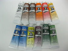 set of 12- Winton Oil colours 37ml  Brand New
